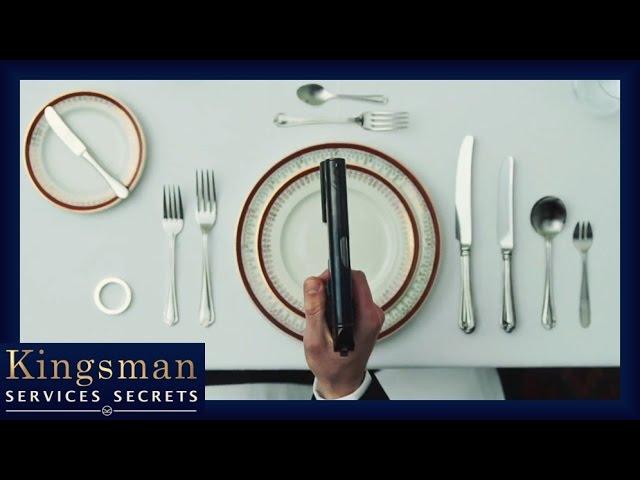 Kingsman - Comment devenir un Agent : Les bonnes manières à table VOST HD