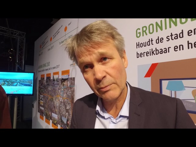 Bereikbaarheid van Groningen staat centraal in Martiniplaza