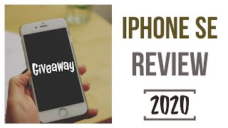 iphone SE Review in 2020 | iphone SE Giveaway | Should You Buy iphone SE