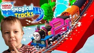 Игра Томас и его друзья Magic Tracks играем вместе