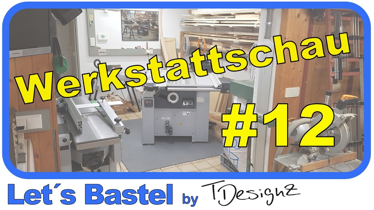 werkstattschau 12 werkstatttour ideen f r werkstatt einrichten youtube. Black Bedroom Furniture Sets. Home Design Ideas