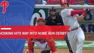Rhys Hoskins mashes his way to HR Derby with 14 HRs