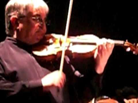 Maurice Hasson y la Orquesta Sinfónica de Lara: violinconcierto deTchaikovsky (Allegro Vivace)