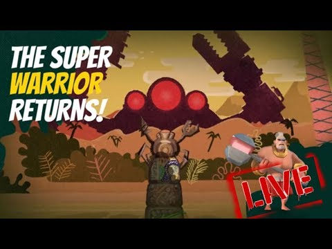 MEGA CRAB (AO VIVO) | BOOM BEACH | RETORNO DO SUPER GUERREIRO
