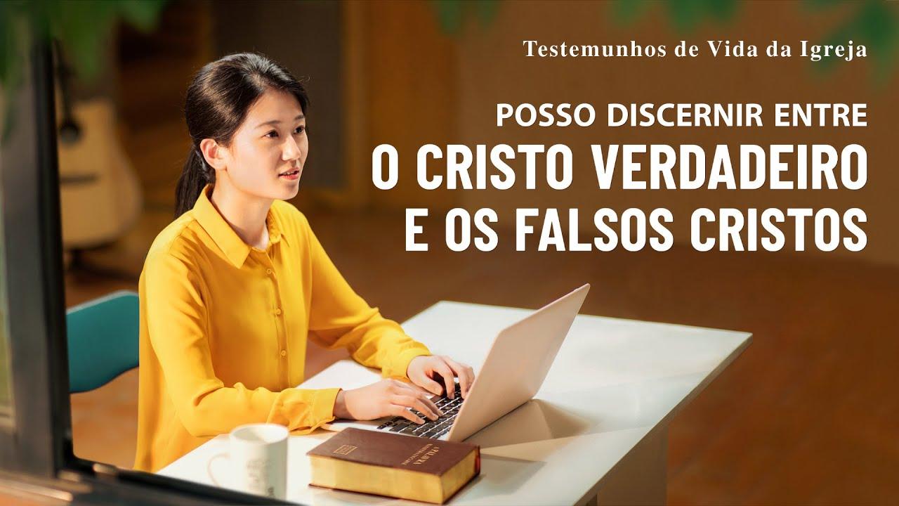 """Testemunho evangélico 2020 """"Posso discernir entre o Cristo verdadeiro e os falsos cristos"""""""