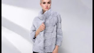 AliExpress Review: JEPLUDA New Type Natural Real Mink Fur Coat For Women