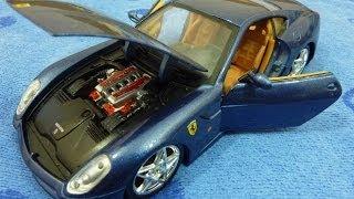 Коллекционная модель авто Ferrari 599 1:24 от Maisto