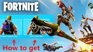 How to get PENGUIN and INSIGNIA back blings - Fortnite: Battle Royal Exclusive Chinece Item
