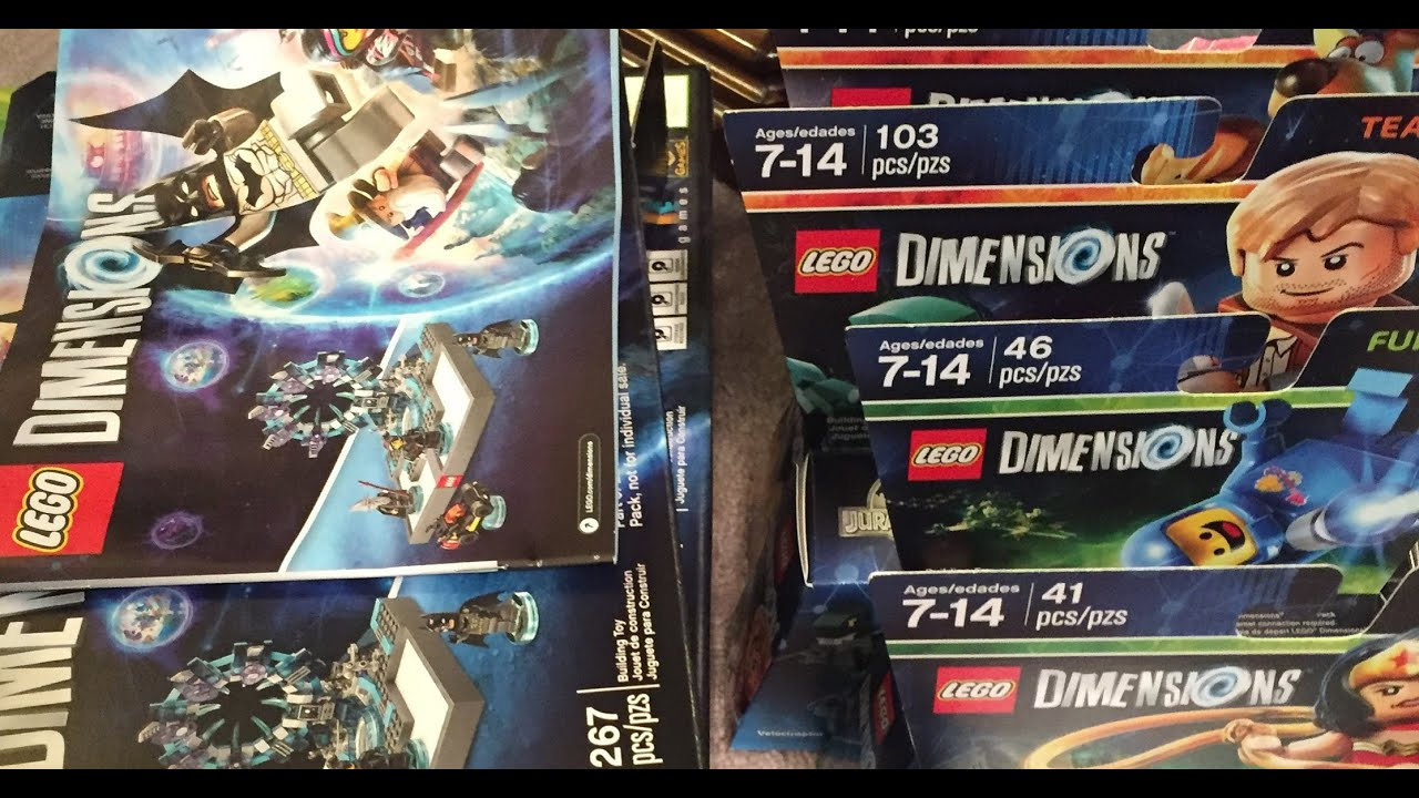 Lego Dimensions Video Game Haul Xbox 360 Youtube