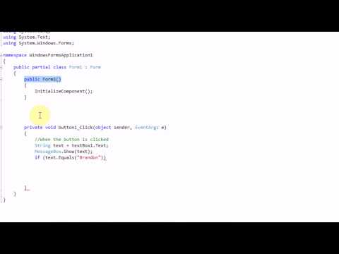 Coding with C#.NET Part 1: Basic Introduction