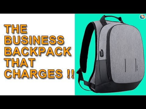 The Backpack that Charges your Smartphone !!!