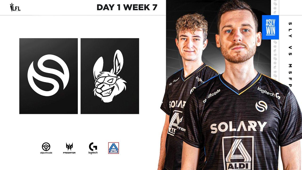 SOLARY VS MISFITS PREMIER   LFL 2021 SPRING SPLIT - DAY 1 - WEEK 7