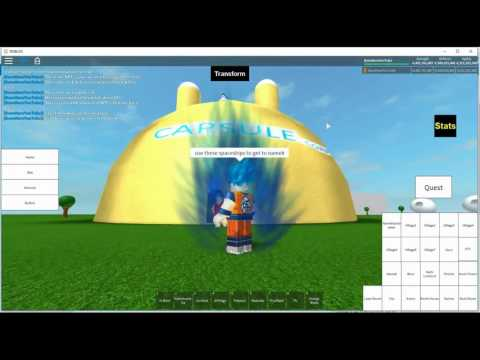 Roblox Dragon Ball After Future