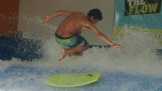 Nick Sanchez May 2013 Flowboarding Edit at Fantasy Surf