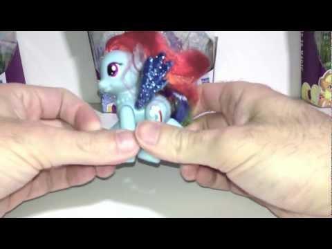 My Little Pony Crystal Motion Rainbow Dash - New Crystal Empire Figure!