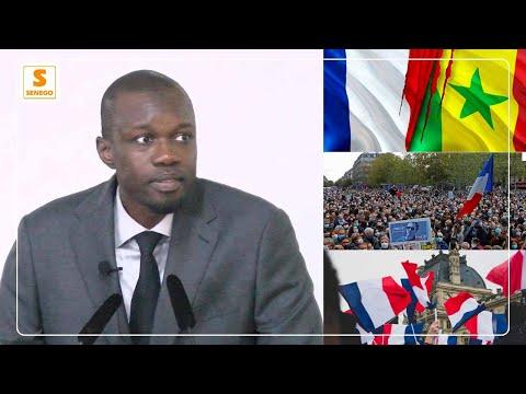 """Ousmane Sonko : """"Il est temps que la France nous foute la paix !"""" (Senego Tv)"""