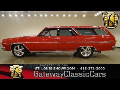 1964 Chevrolet Malibu Wagon - Gateway Classic Cars St. Louis - #6342
