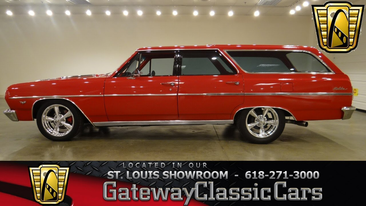 1964 Chevrolet Malibu Wagon Gateway Classic Cars St Louis 6342 1975 Cadillac Wiring Diagram Youtube