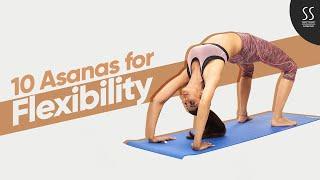10 Asanas to Improve Flexibility | The Art of Balance | Simple Soulful App screenshot 1