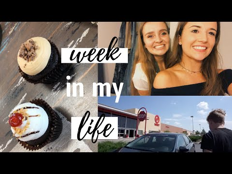 A WEEK IN MY LIFE BACK HOME // college + work + food