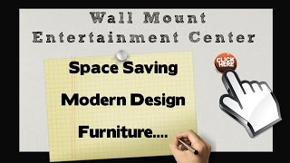 Wall Mount Furniture For Sale | Floating Entertainment Center Wall Shelves Tv Stand
