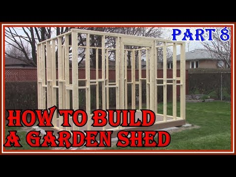 HOW TO BUILD A GARDEN SHED – EASY DIY PROJECT