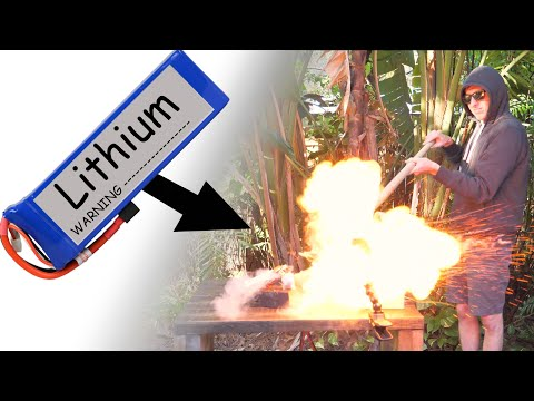 Do Not try to charge a LiPo Battery like this!