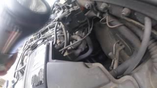 Where is the crankshaft sensor Mercedes ML 270 / Где находится датчик коленвала Mercedes ML 270