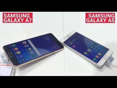 Samsung Galaxy A5 & A7 (2016) - First Impressions
