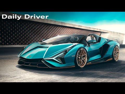Lamborghini Sian Roadster, Omega Car, Hagerty Hot List – Daily Driver