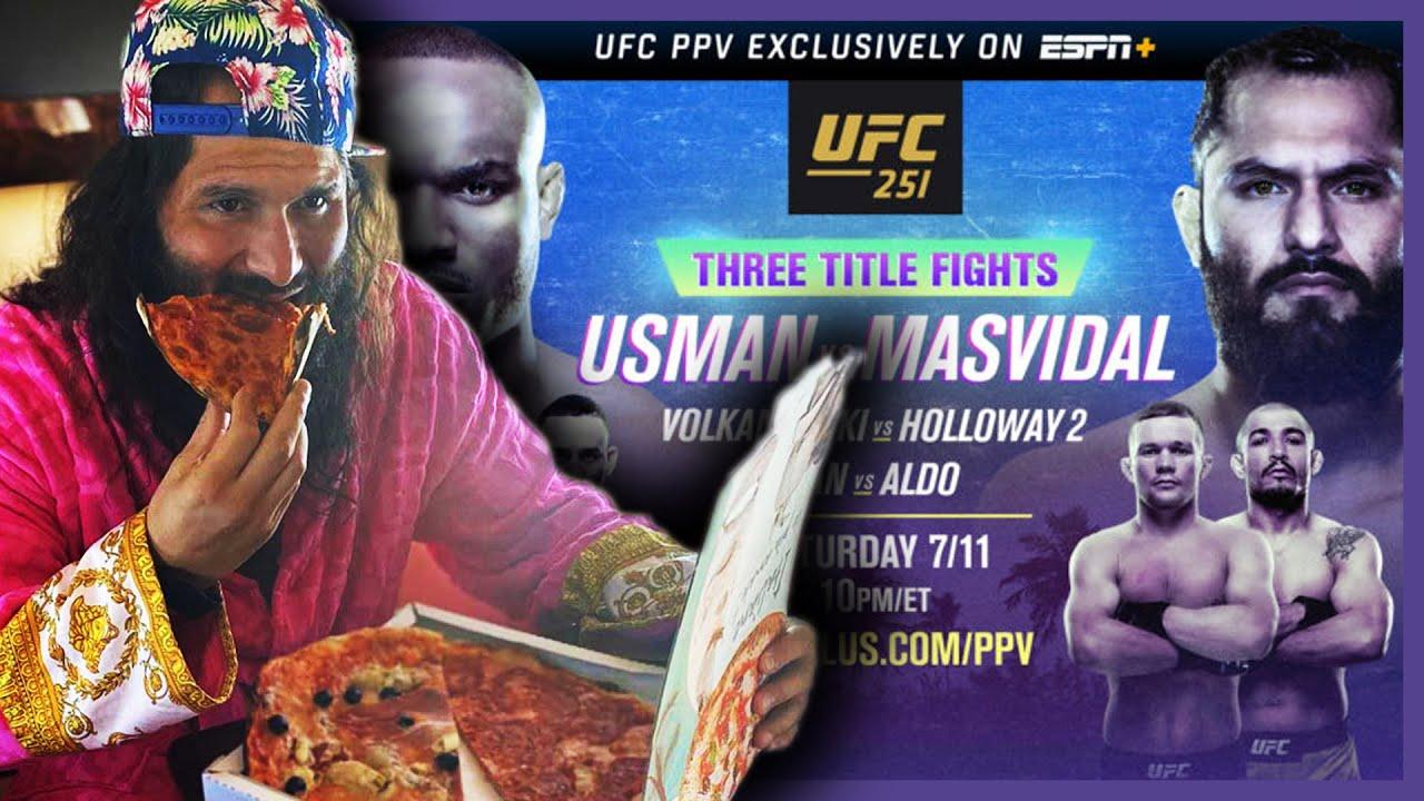 UFC 251 || 3 TÍTULOS EN JUEGO