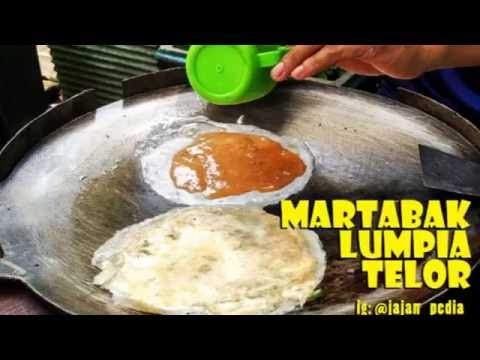 Martabak Telor  Lumpia / Indonesian Egg Pancake