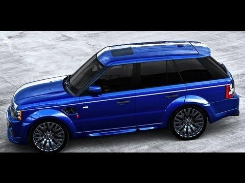 Land Rover Range Rover Evoque Autobiography >> Bali Blue Range Rover Sport RS300 : Kahn Design - YouTube
