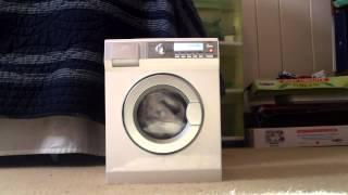 Full Wash With My AEG Electrolux Lavamat Toy Washing Machine With 2nd Improvement