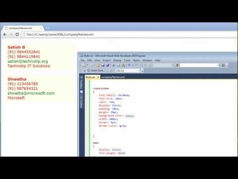 Business Card Design: XML & CSS Level 2