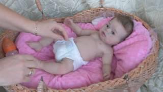 Обложка на видео о Кукла реборн силиконовая.