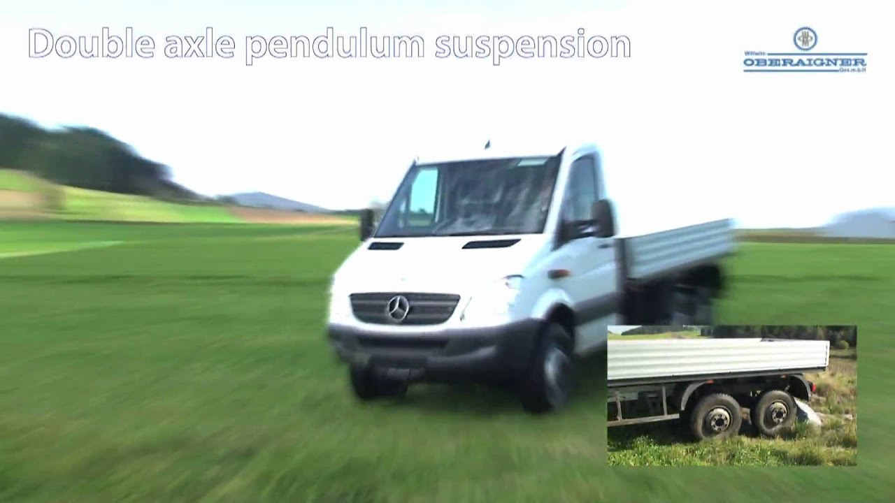 Introducing the Sprinter 6x6 from Oberaigner Offroad - YouTube