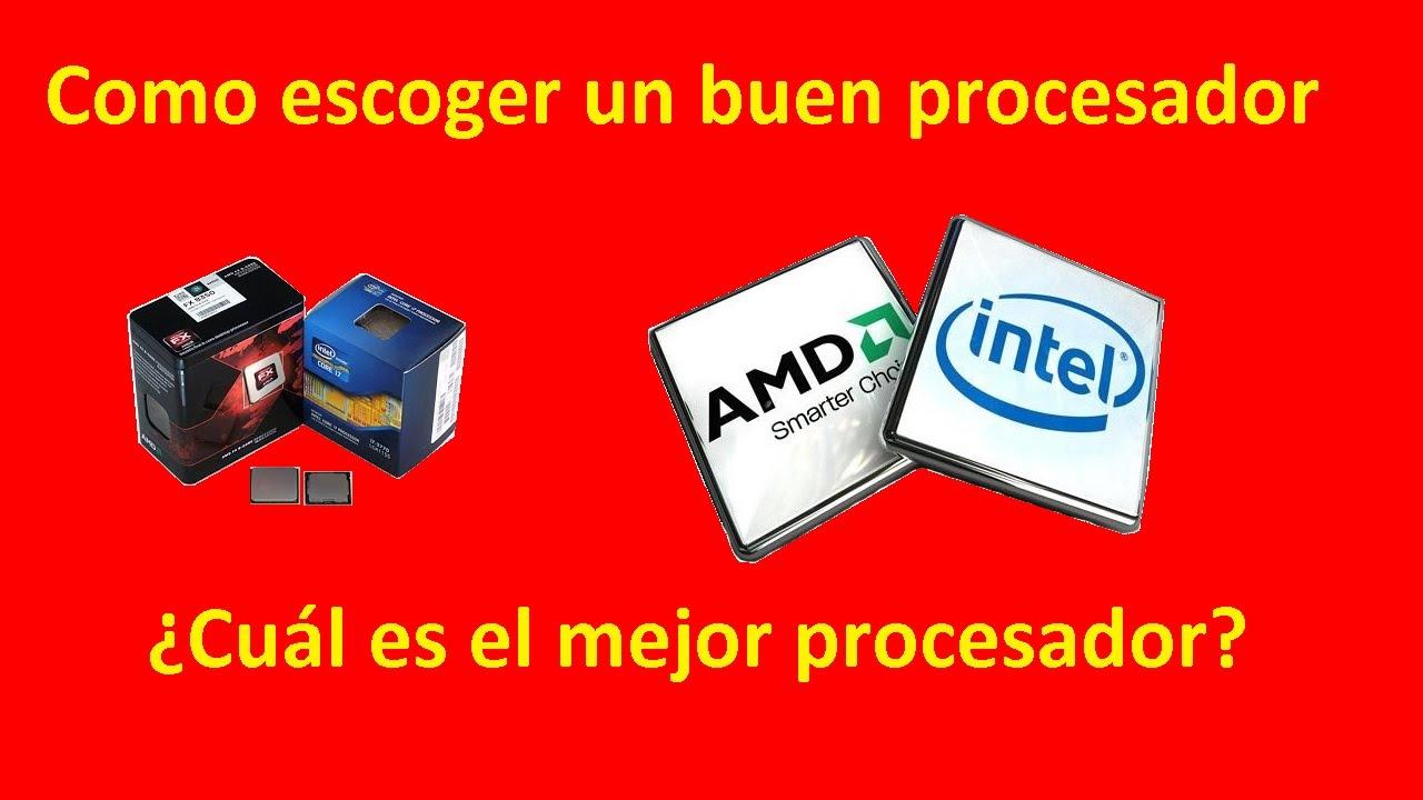 Como escoger un buen procesador cu l es el mejor for Cual es el mejor lavavajillas