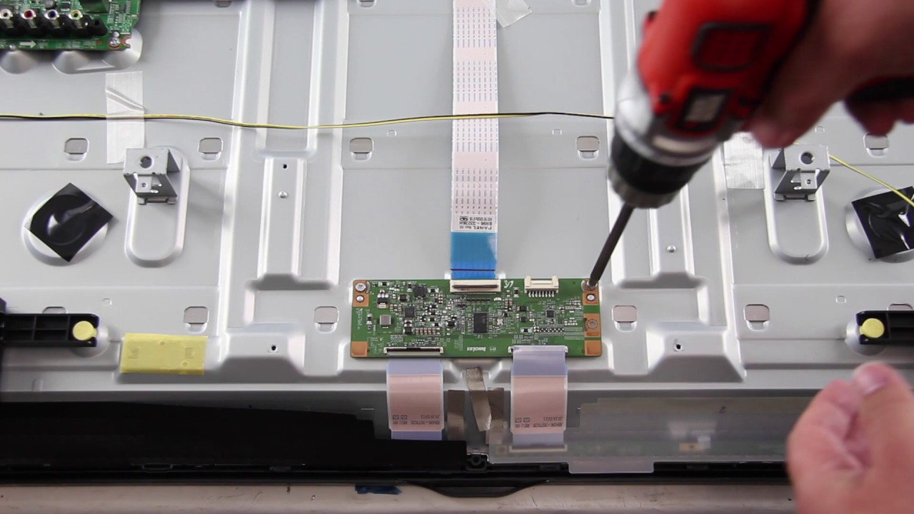 Samsung UN58 LED TV Board Replacement Kit - How to Fix Your Samsung ...