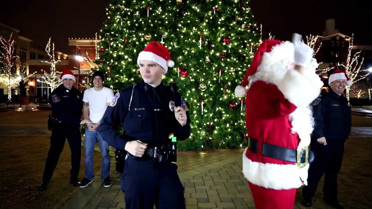 police and santa jingle bells holiday safety remix youtube - Police Officer Christmas Decorations