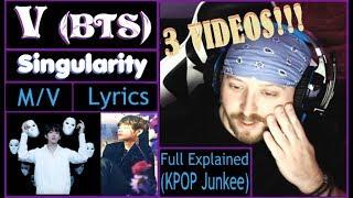 Baixar Metal Musician Reacts: V (BTS) - Singularity [M/V, Lyric video, + Full Explained) 3 REACTIONS!!!!!!