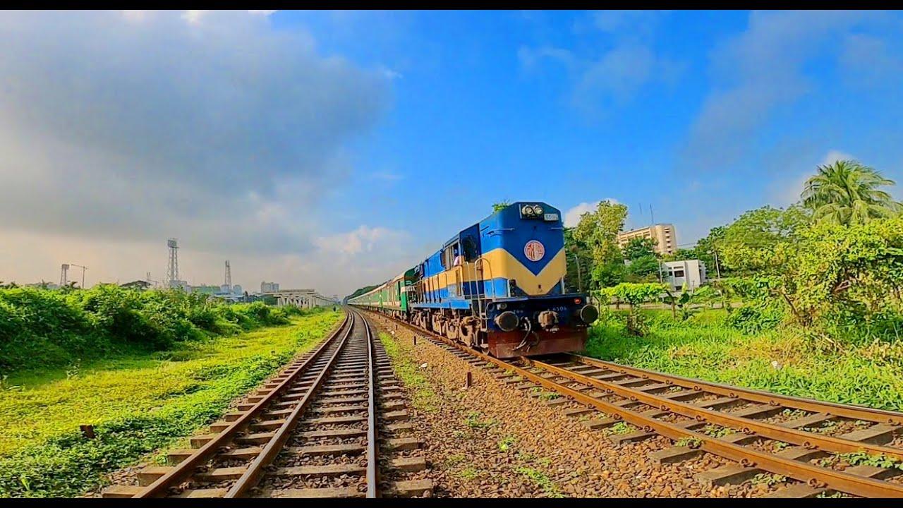 সুন্দরবন এক্সপ্রেস ও তিতাস এক্সপ্রেস 4k Video