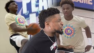BRONNY WINDMILLING ALREADY!? Bronny vs Juwan Howard's Son CRAZY 2OT GAME! CONTROVERSIAL ENDING!