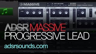 NI Massive - Progressive Trance Lead - How To Tutorial