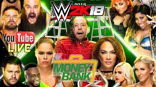 Wwe 2k18 money in the bank 2018 - live fr