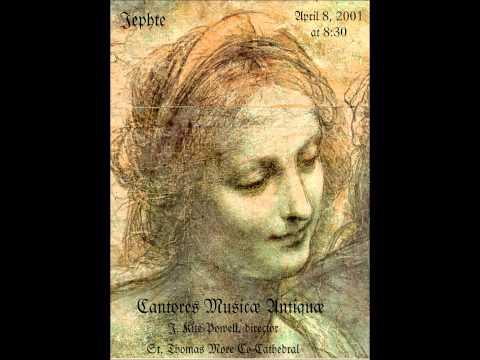 """""""Jephte"""" by Giacomo Carissimi"""