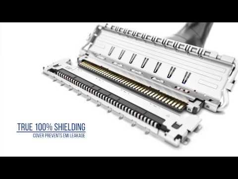 CABLINE-CA II / Micro-Coaxial Wire-to-Board Connector / I-PEX Connectors