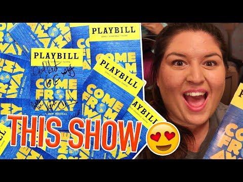 Come From Away (Broadway) 🌎 VLOG/STAGE DOOR/REVIEW