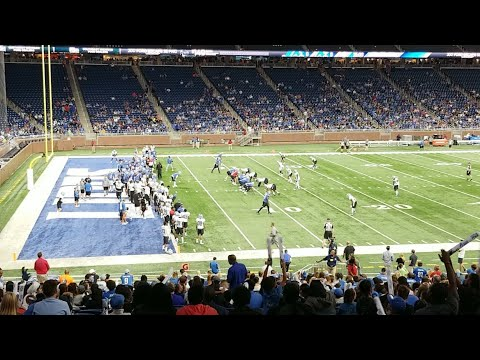 LIVE Detroit Lions Camp Mock Game 1st Half