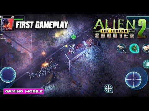 [Android/IOS] Alien Shooter 2 - The Legend By Sigma Gameplay